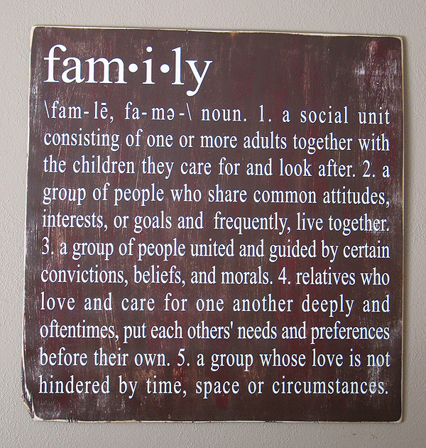 distressed family definition sign crafts by amanda distressed family definition sign