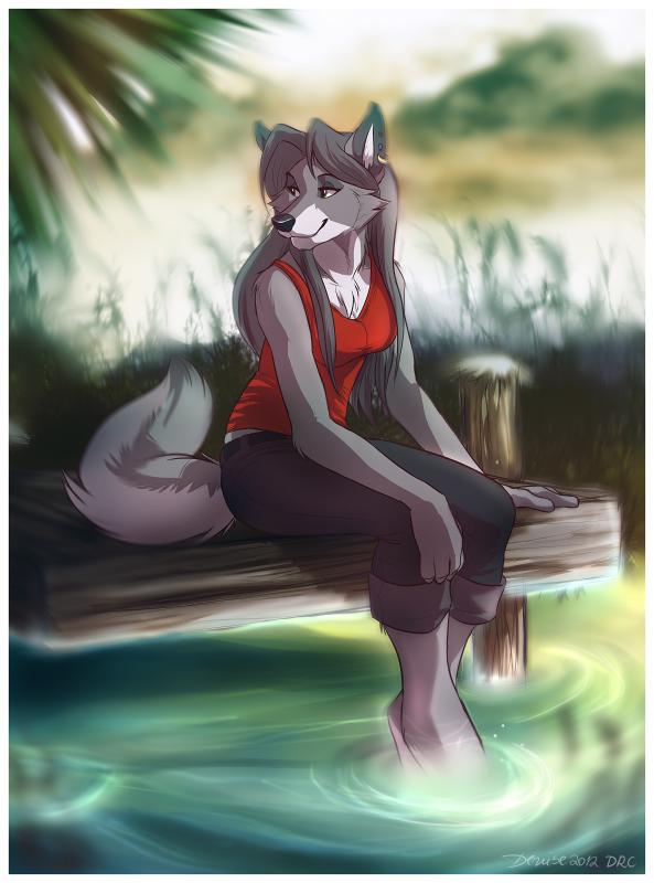 Фурри фото волчицы