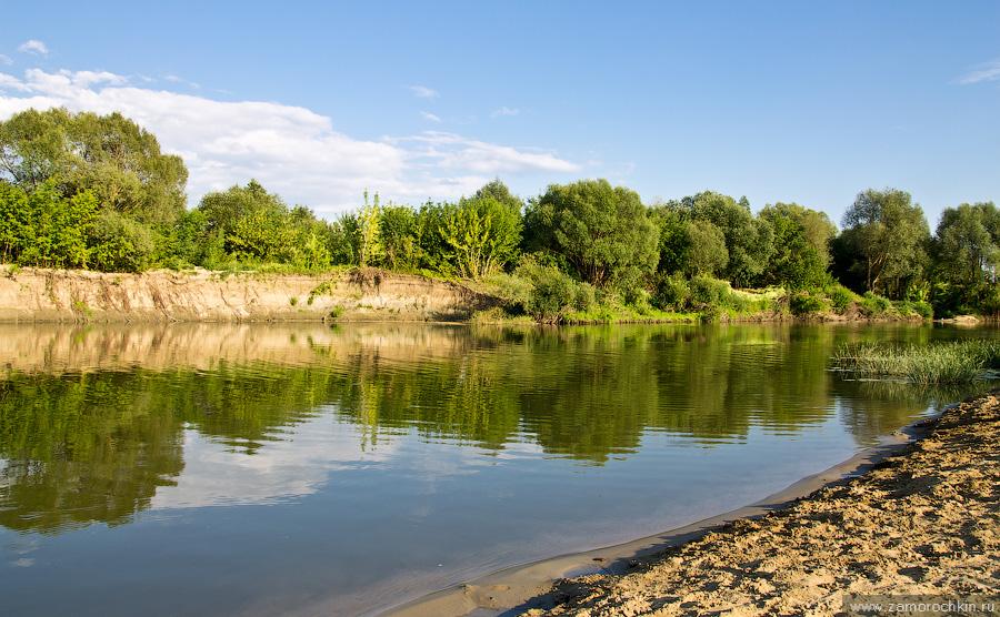 Река Мокша. Пейзаж | The Moksha River. Landscape