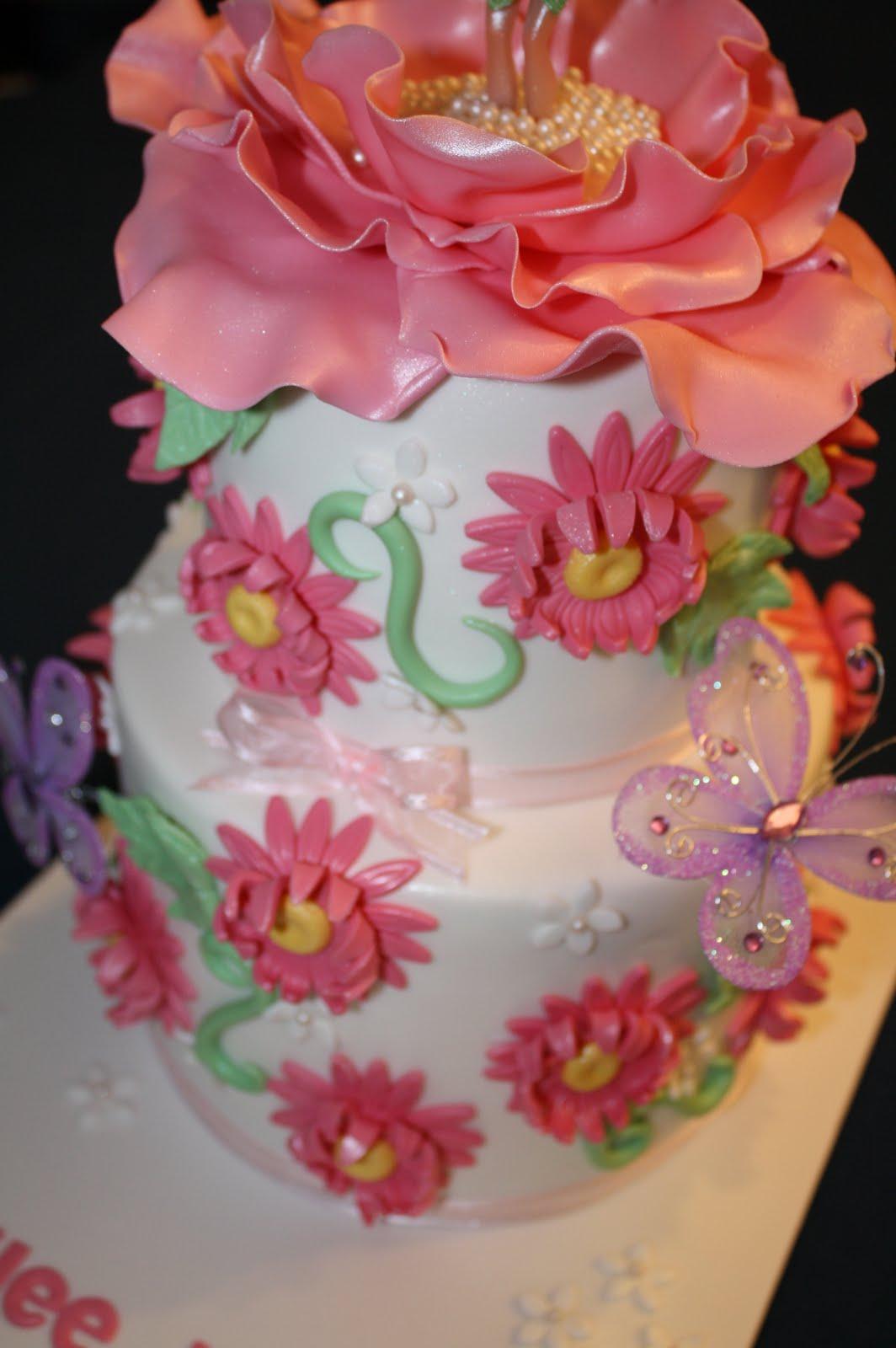 Sandys Cakes Hailees Tinkerbell 1st Birthday Cake