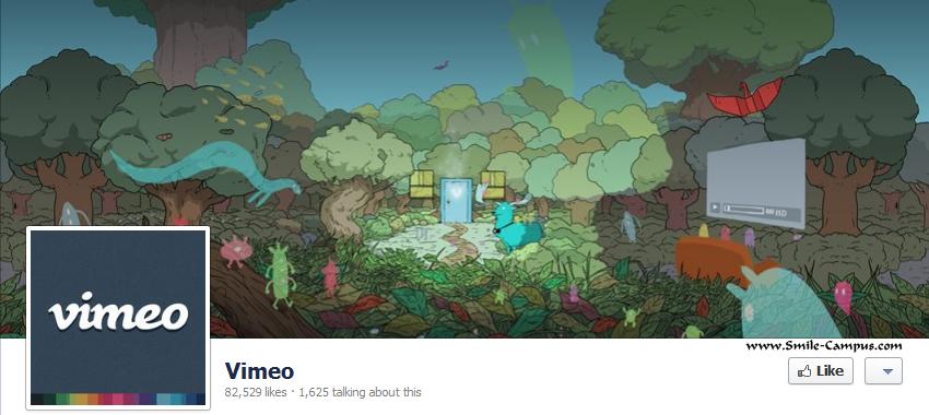 Vimeo.com Facebook Timeline Page
