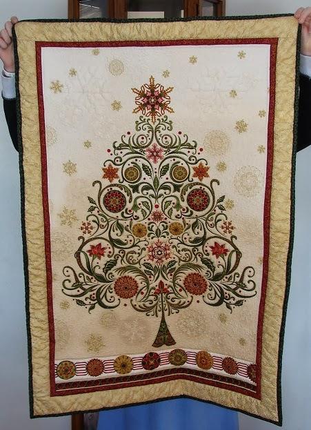 The Life Of Riley Christmas Tree Panel Finish