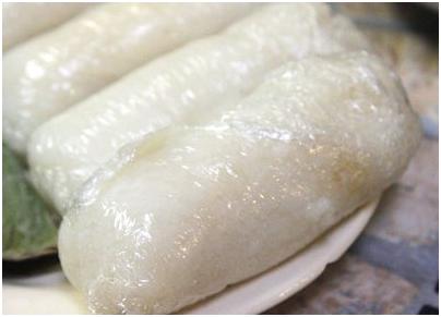 Vietnamese food - Chuối Nếp Nướng