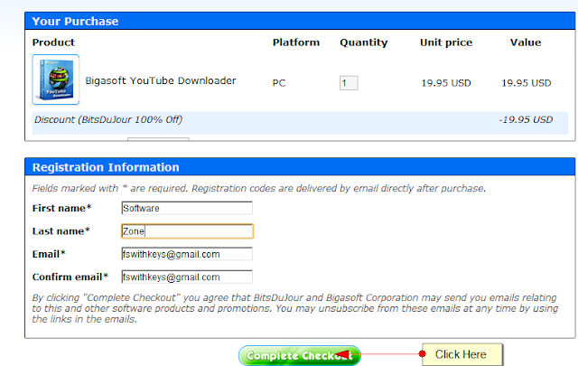 bigasoft youtube downloader purchase