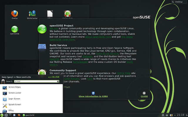 OpenSUSE 12.3 Everyday Linux User