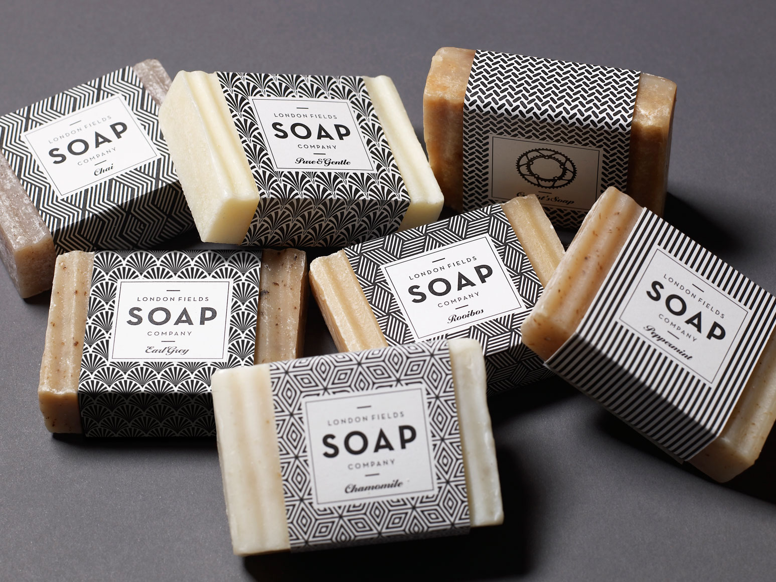 London fields soap company on packaging of the world for Product design companies london