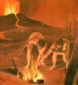 paleolithic age fire - photo #3