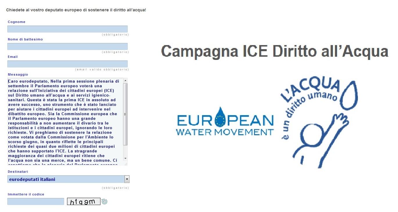 Osservatorio molisano sulla legalit diritto all 39 acqua for Numero parlamentari italiani