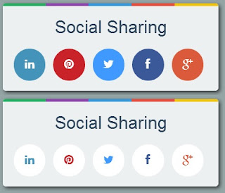 Cool Social Sharing Button using CSS3