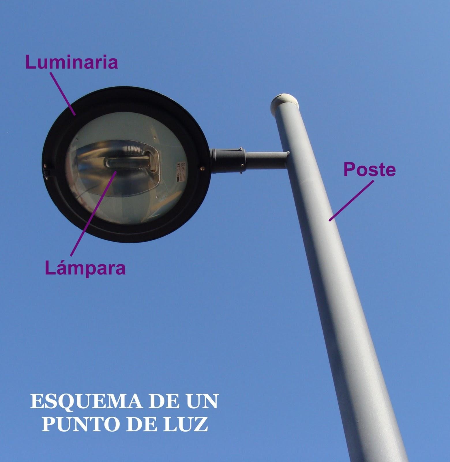 Introducci n al alumbrado p blico for Puntos de luz vivienda