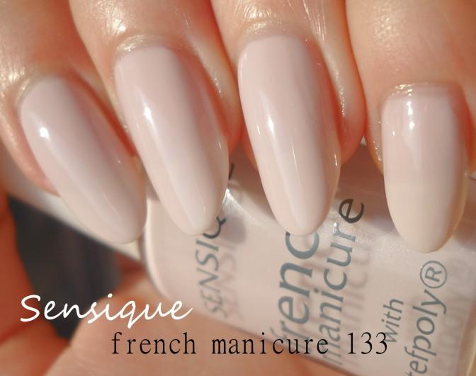 Riki Tiki Kosme Tiki Sensique French Manicure 133