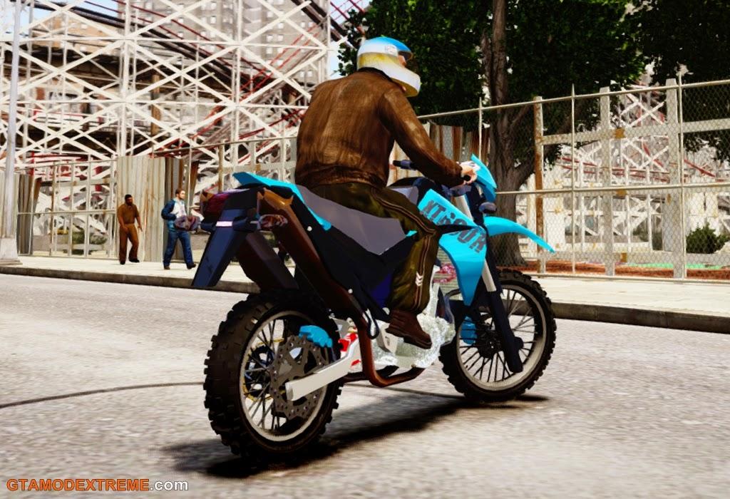 Baixar moto Yamaha XT660 Para GTA IV