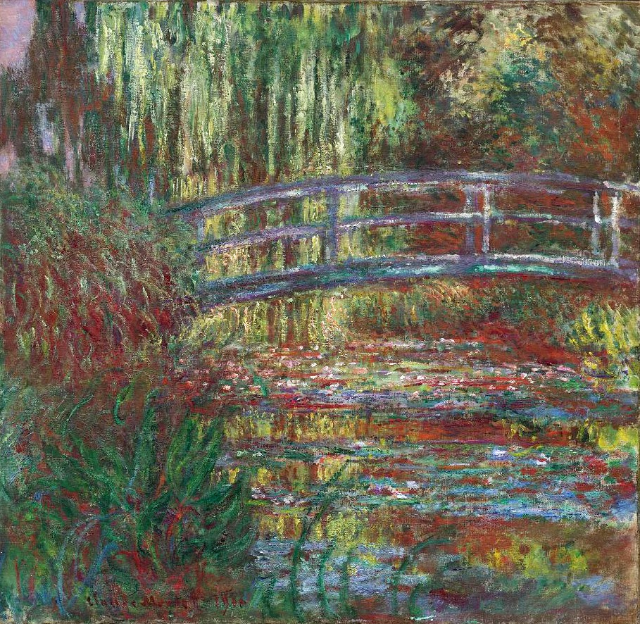 Art artists claude monet part 22 1896 1897 1926 for The water garden