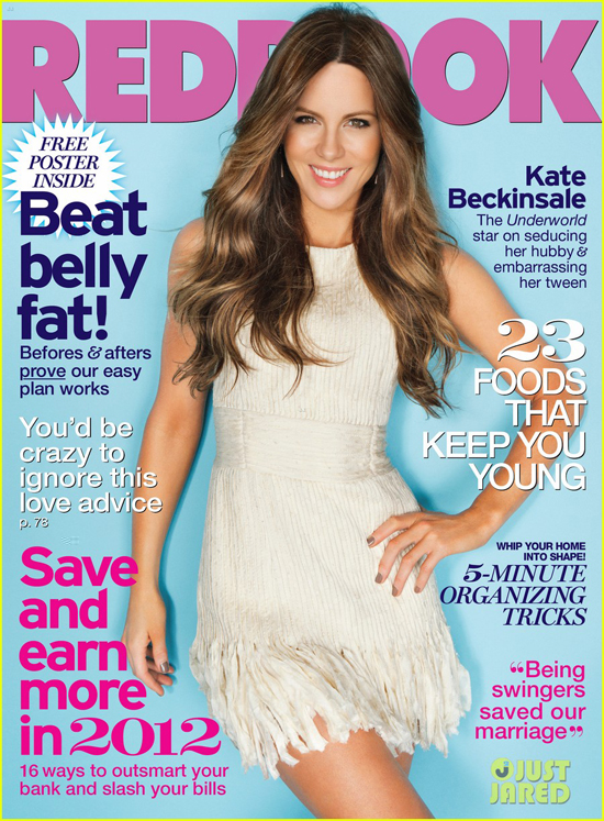 Kate Beckinsale Hiarstyle on Redbook Magazine January 2012 - 1