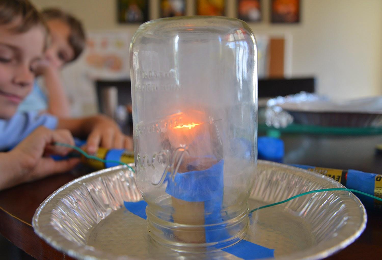 A school of fish homemade light bulb for Homemade fishing light