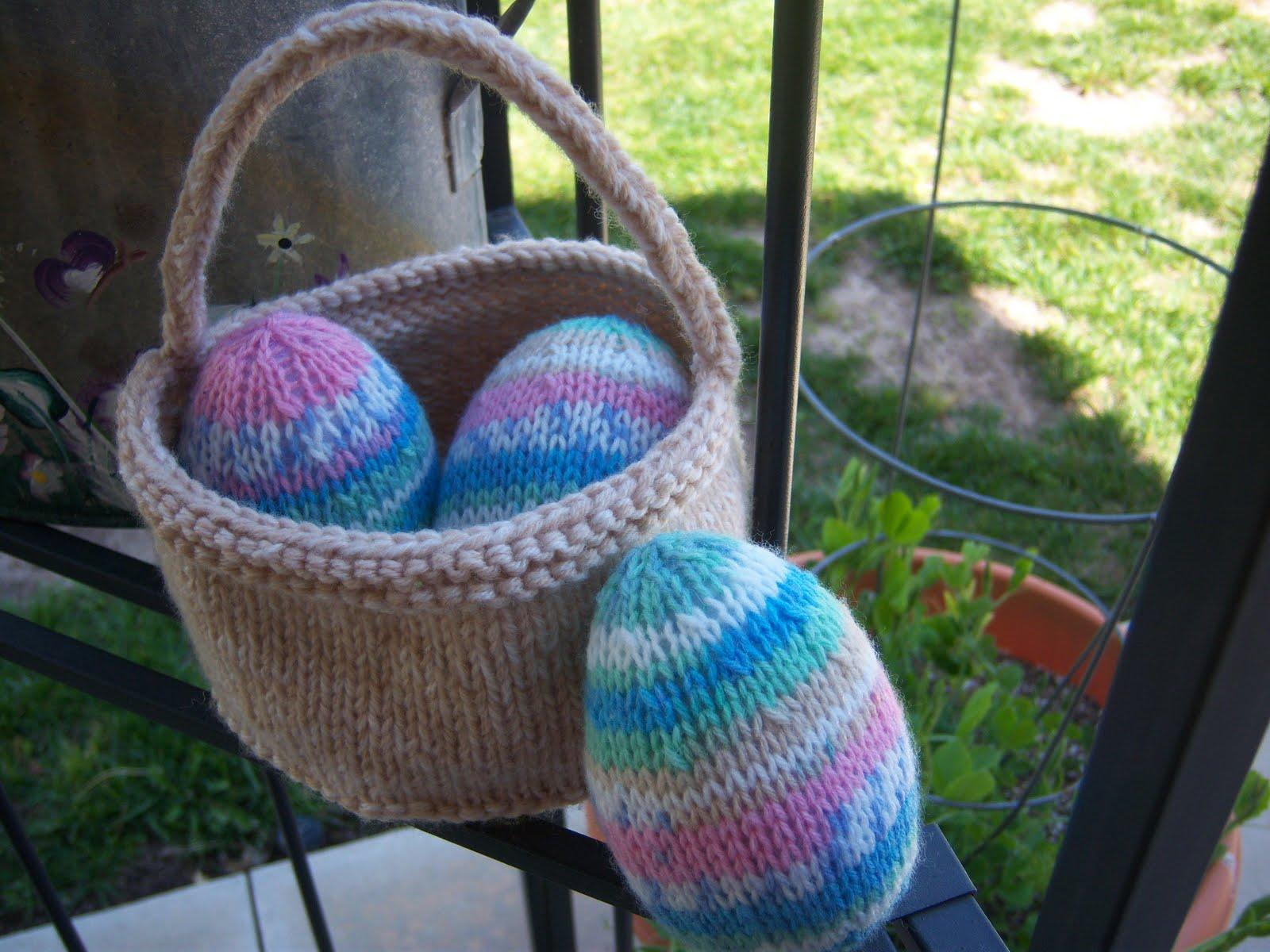 Anacapa Knits: Free Pattern: Easter Basket