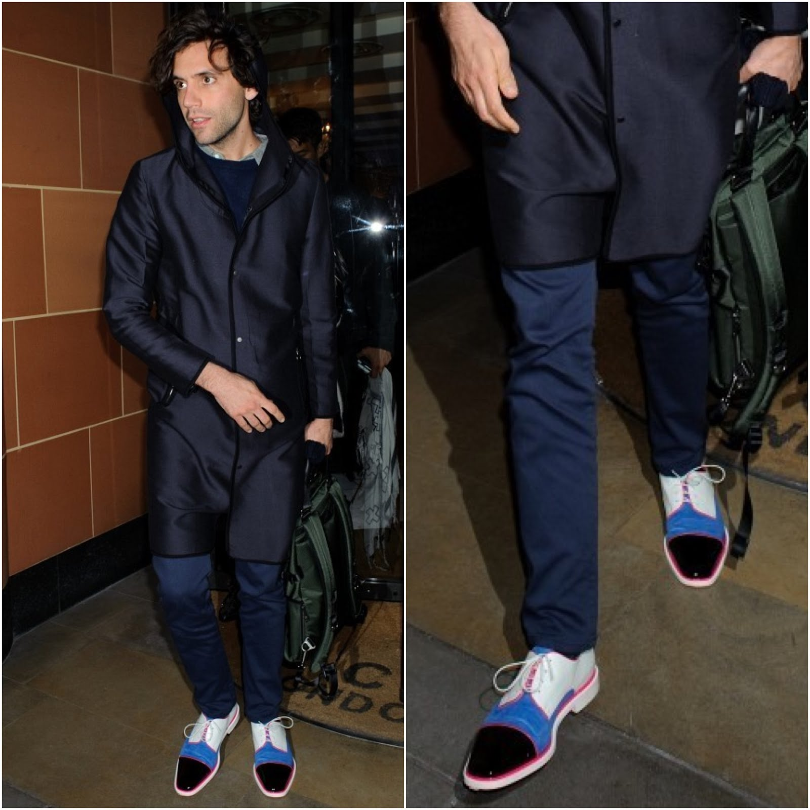 00O00 Menswear Blog Mika's Christian Louboutin @LouboutinWorld 'Bruno Orlato' shoes - C Restaurant, London February 2013