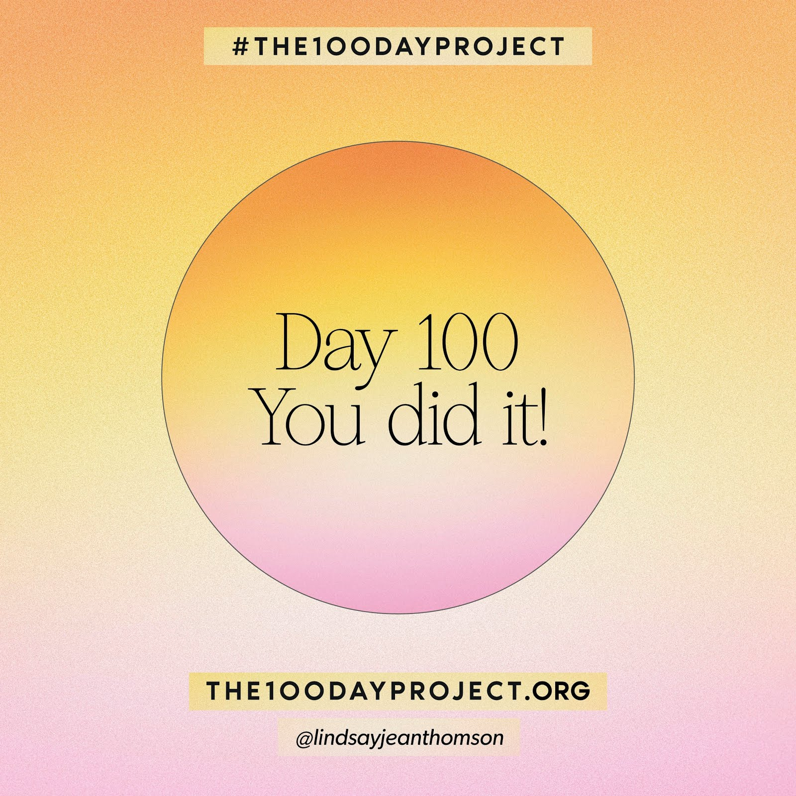 #the100dayproject2021