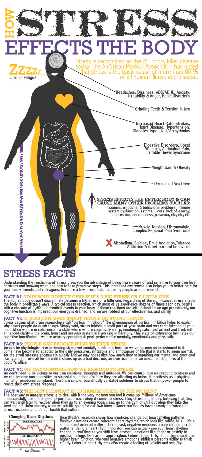 the effects of stress on the human body 2015-5-10 the effects of stress on our life is an important  all systems and functions of the human body,  significant effects is that stress suppresses and.
