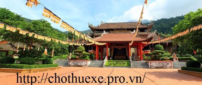 CHo thuê xe đi lễ hội Yên Tử