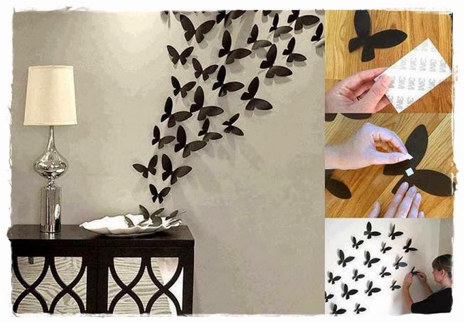Nanda lacerda decora o borboletas de papel for Decoracion hogar 3d