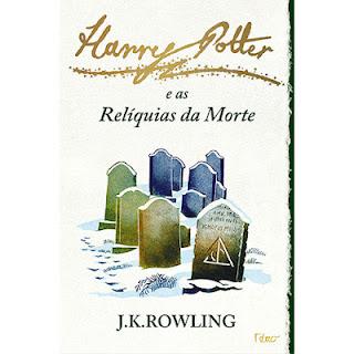 harry potter livro nova capa relíquias da morte