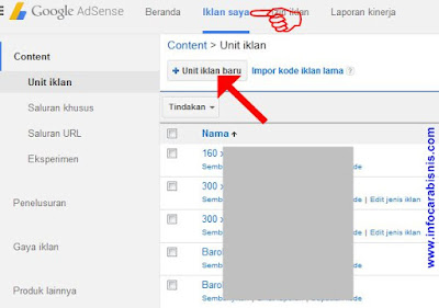 Cara Membuat Iklan Google Adsense di Blog
