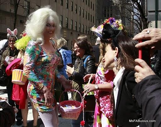 easter drag queen