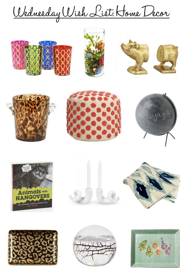 Comfy cozy couture wednesday wish list home decor for Home wish list