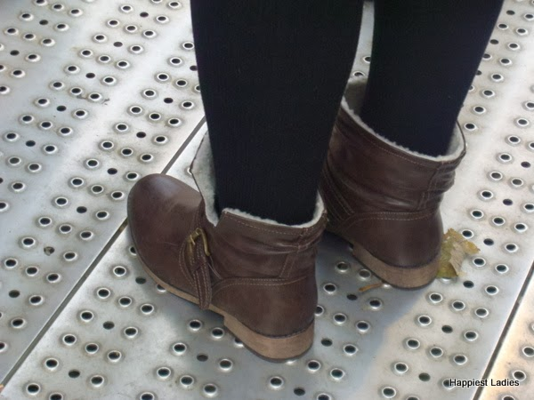 brown boots women