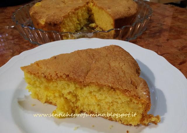 Torta soffice all' arancia