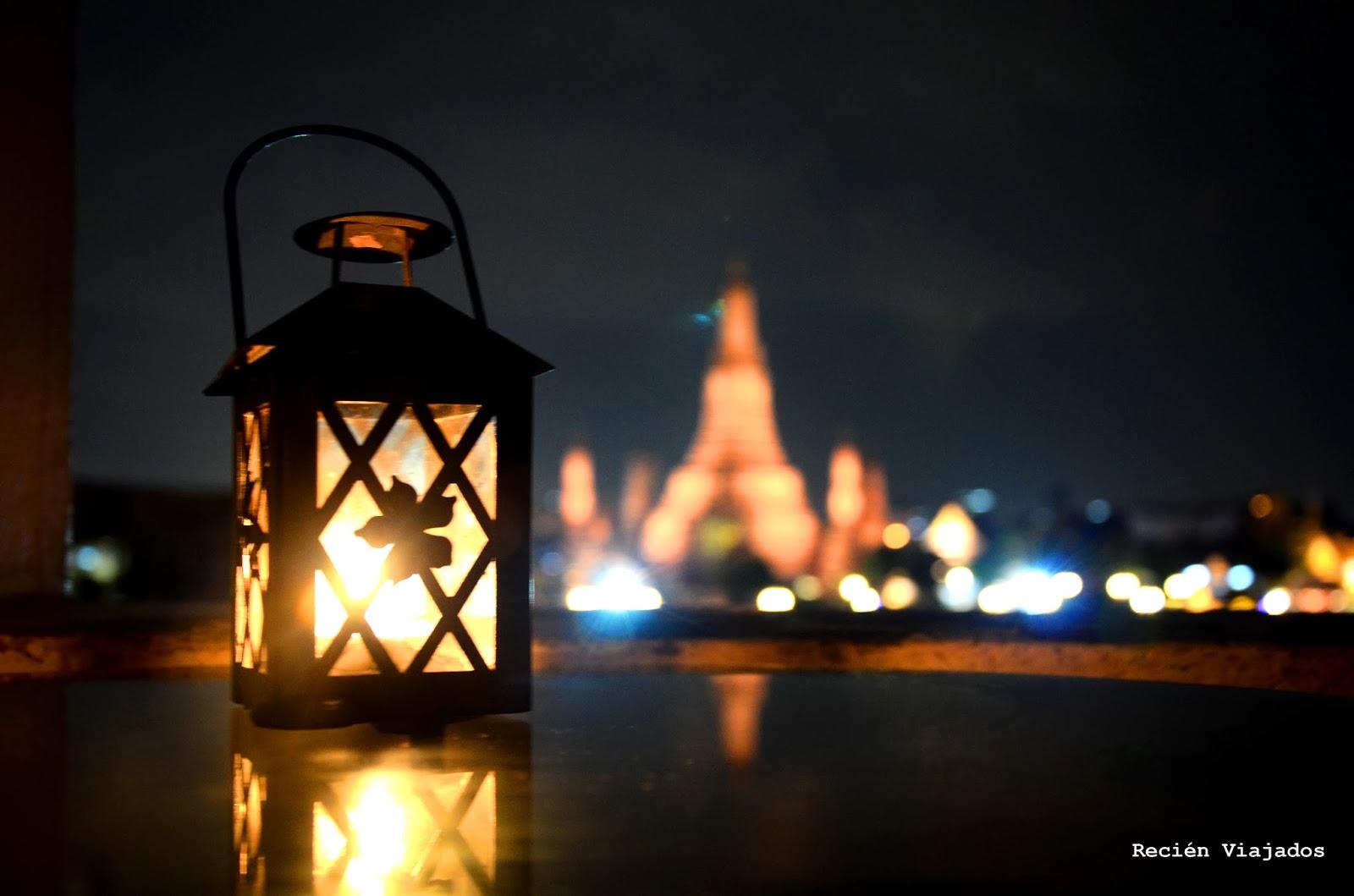 Wat Arun iluminado