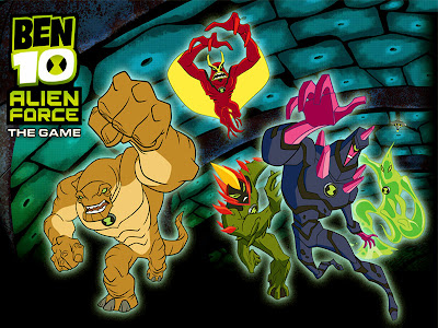 Ben 10 Alien Force Cartoon Network Wallpapers