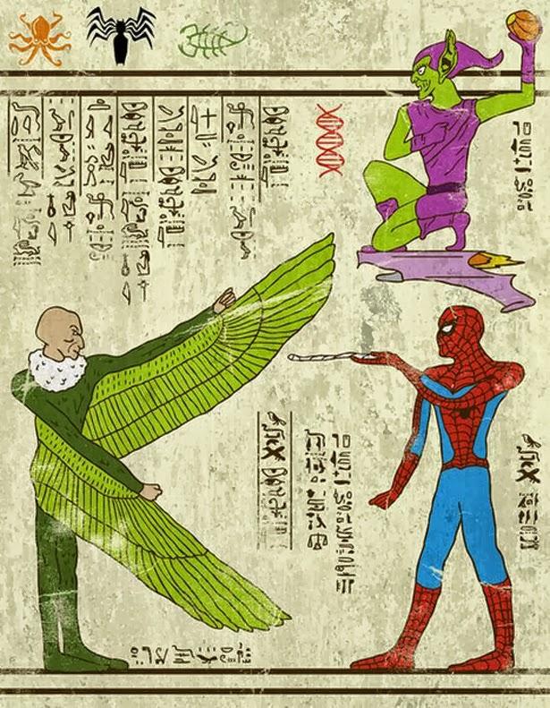 Jeroglifico Spider-Man