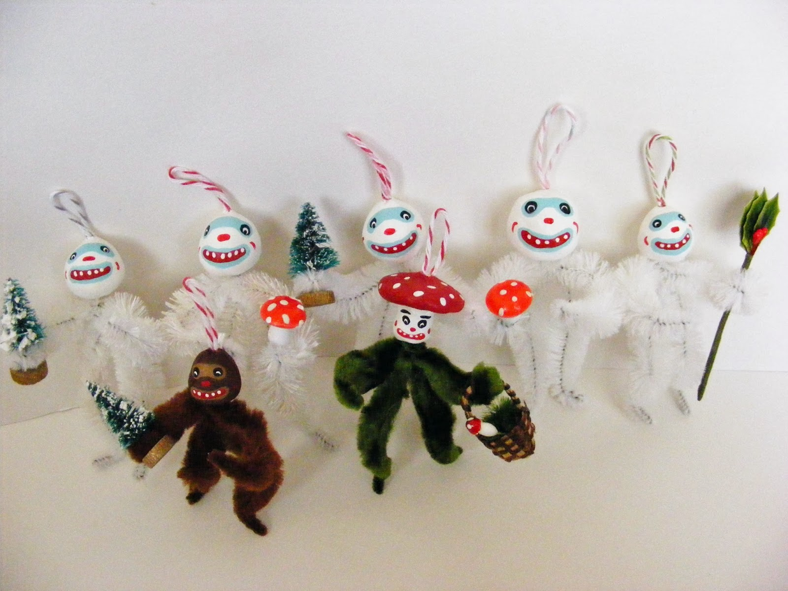MAGIKAL SEASONS: Krampus and Chenille Ornaments