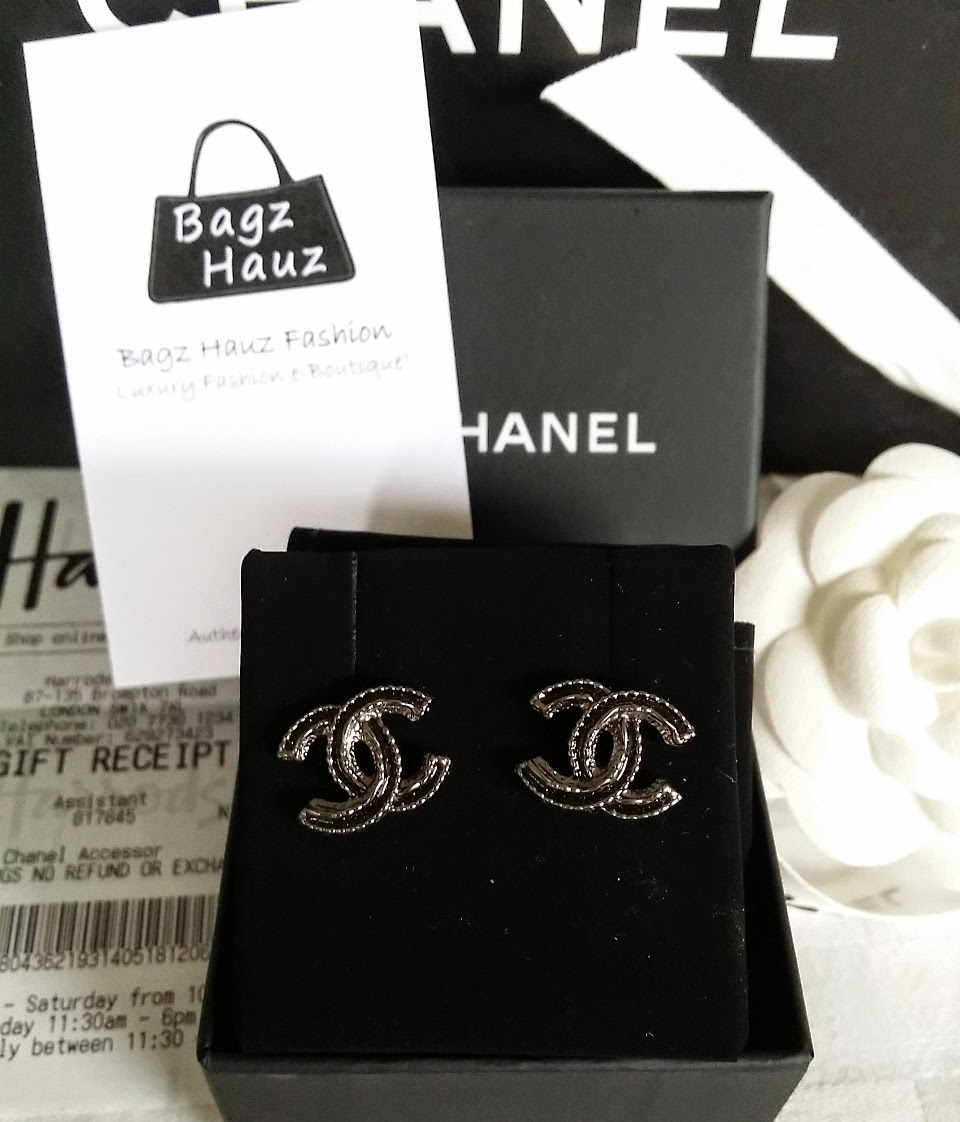 Chanel A44787 Cc Earrings For Joell 1st Time Customer