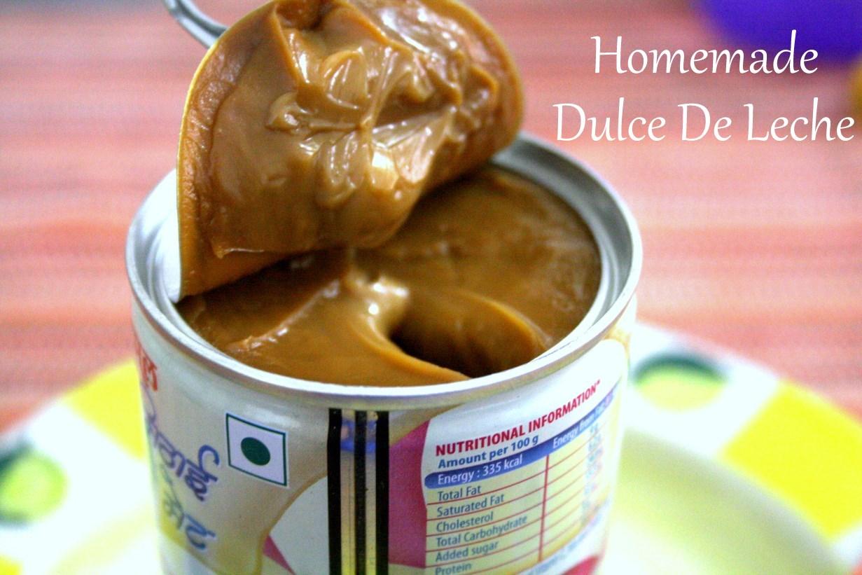 Homemade Dulce De Leche | How to make Dulce De Leche using ...