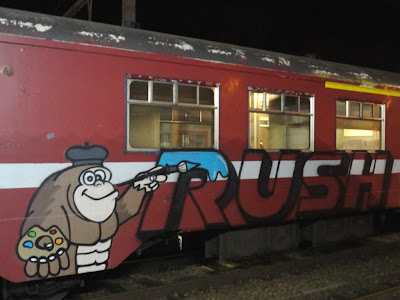 rush graffiti