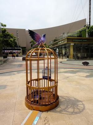 Birdcage on 1881 Heritage Plaza Hong Kong