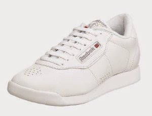 Reebok Princess Womens Wide Leather Athletic Sneakers Shoes