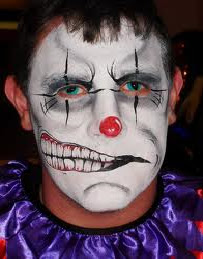 Scary Halloween Face Painting http://facepaint1.blogspot.com/2011/08/halloween-face-painting-ideas-for-2011.html
