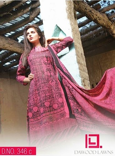 Dawood Swiss Lawn Collection 2014
