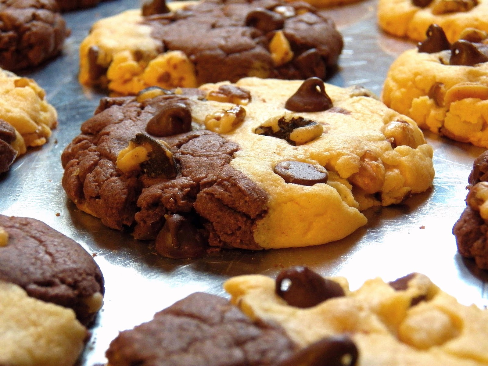 Banana Chocolate Pudding Cookies