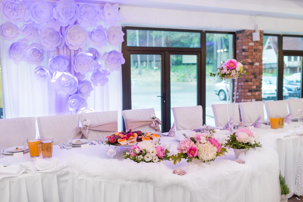 Sala Weselna Łuków Bajeczna ~  sala weselna w Zagórzu Śląskim Bajeczny Ślub dekoracje sal