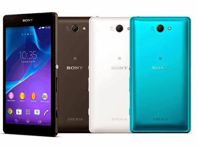 Harga Sony Xperia Z2a dan Spesifikasi Lengkap