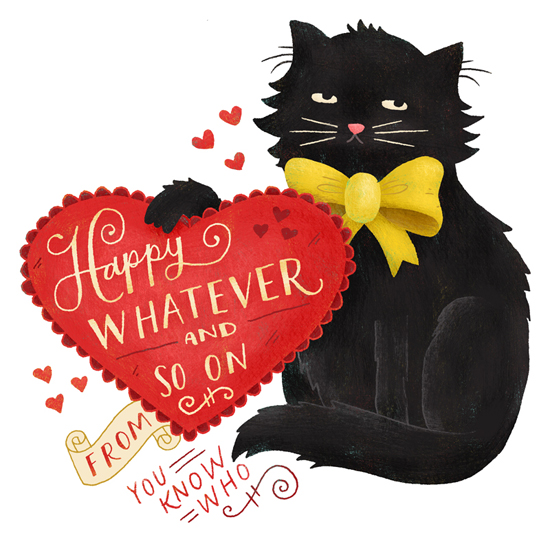 Valentines Day illustration by Mary Kate McDevitt