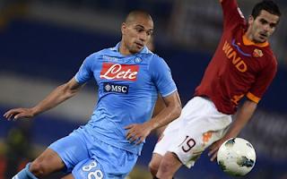 أهداف روما و نابولي 2-2 في الدوري الايطالي 28-4-2012