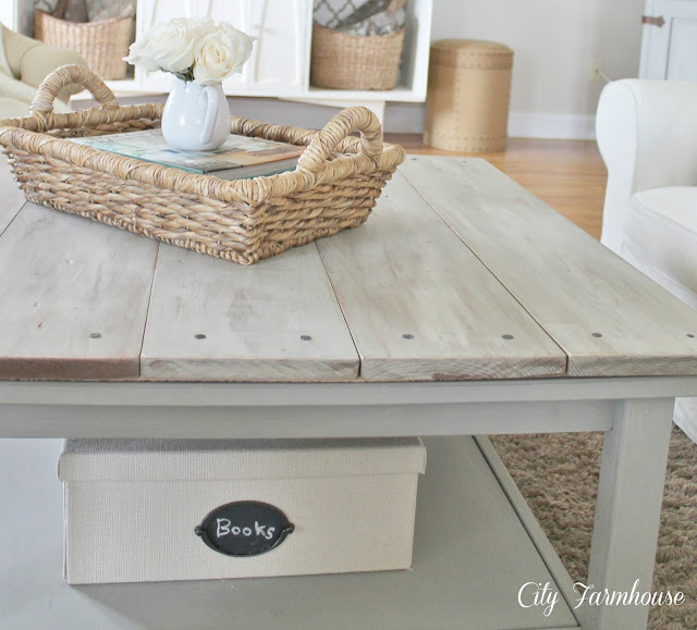 Distressed Wood Coffee Table White 8 - White Distressed Wood Coffee Table CoffeTable