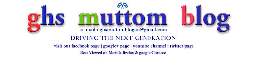 ghs muttom blog presents