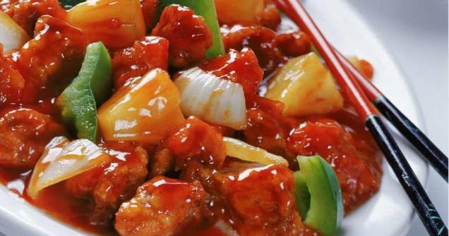 Lesson Of The Day: Sweet And Sour Chicken...